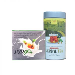 Immunity Combo – Herbal Tea & Jiyo 90+